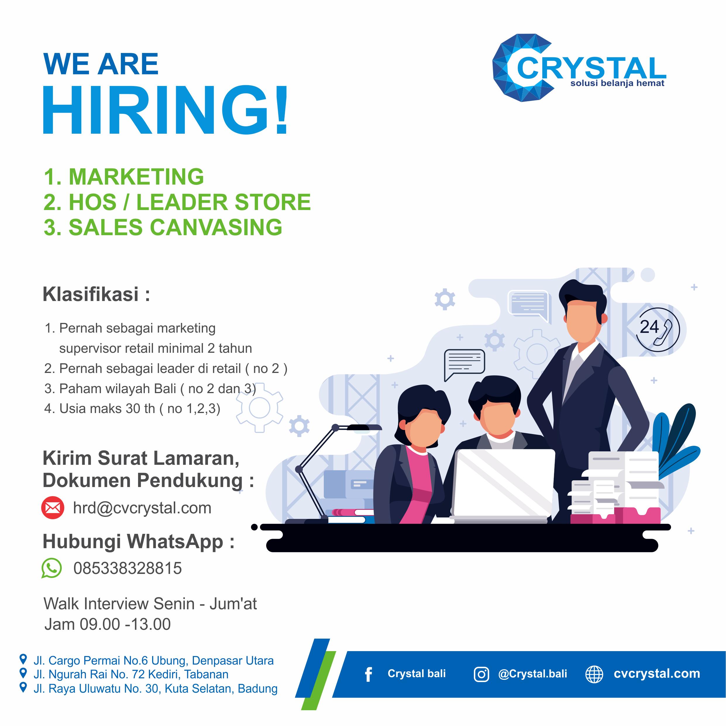 Cv Crystal Pusat Sembako Murah Bali